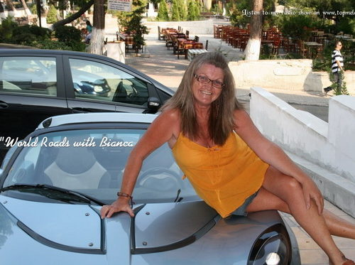 World Roads with Bianca – Dec 8 2014 Santorini -Singing Politician